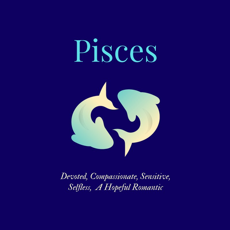 Pisces Women's T-Shirt by Shop As You Wish Publishing