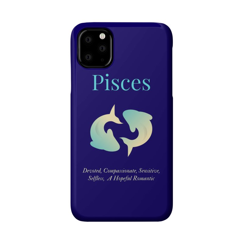 Pisces Accessories Phone Case by Shop As You Wish Publishing