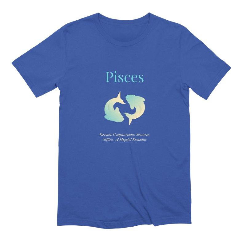 Pisces Men's T-Shirt by Shop As You Wish Publishing