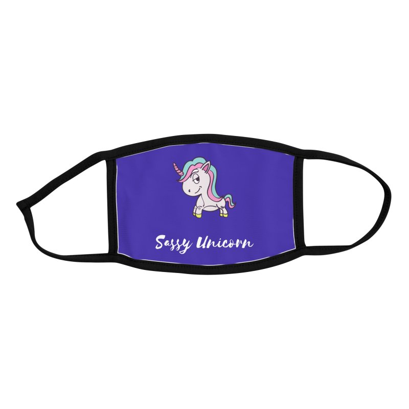 Sassy Unicorn Accessories Face Mask by Shop As You Wish Publishing