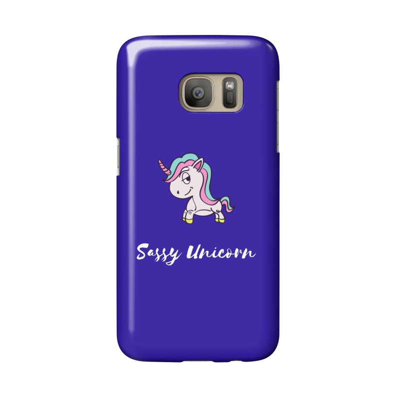 Sassy Unicorn Accessories Phone Case by Shop As You Wish Publishing