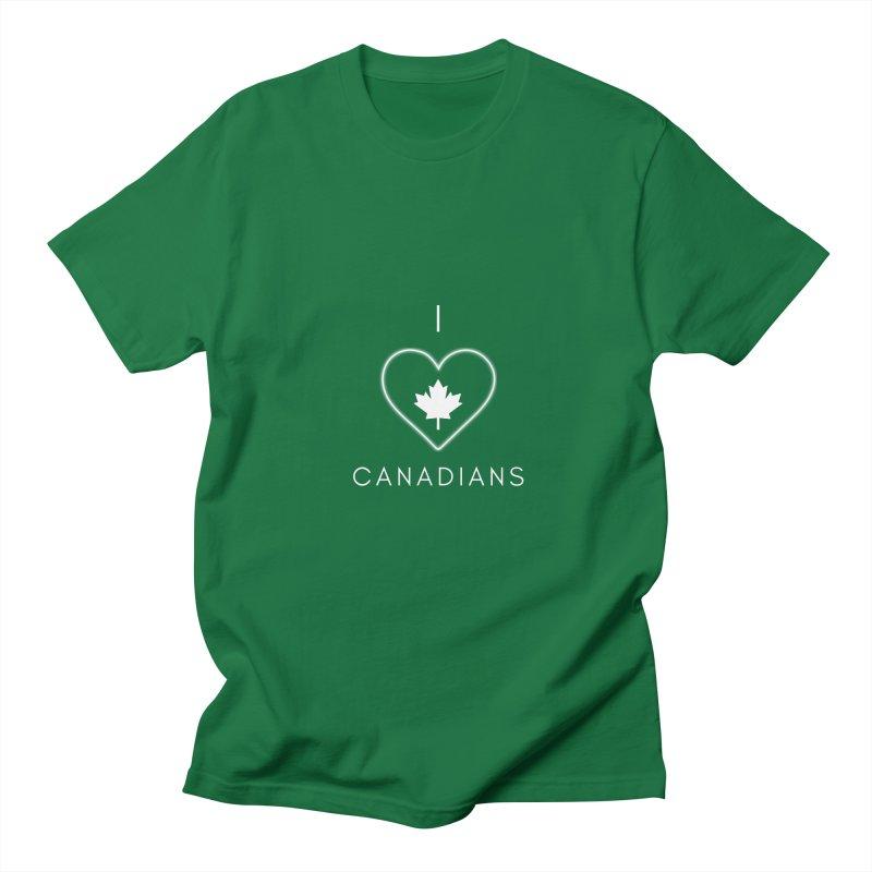 I Heart Canadians Women's T-Shirt by Shop As You Wish Publishing