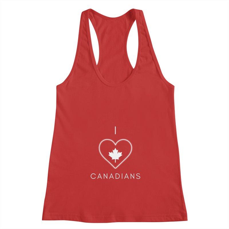 I Heart Canadians Women's Tank by Shop As You Wish Publishing