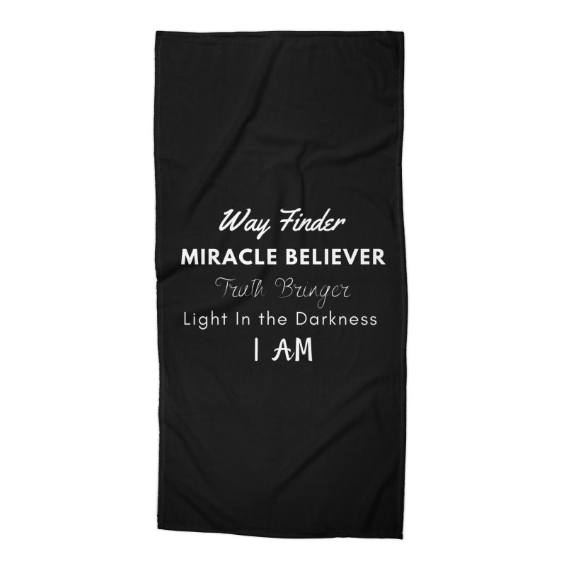 Way Finder Accessories Beach Towel by Shop As You Wish Publishing