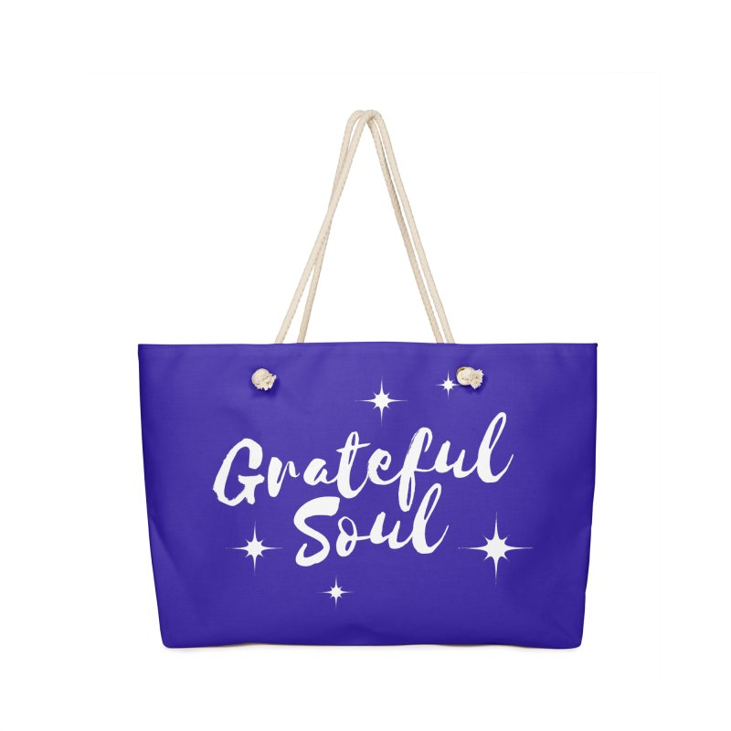 Grateful Soul Accessories Bag by Shop As You Wish Publishing