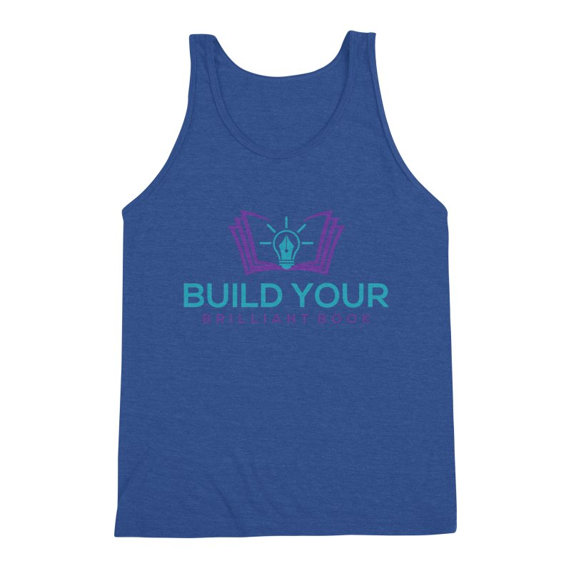 Build Your Brilliant Book Men's Tank by Shop As You Wish Publishing