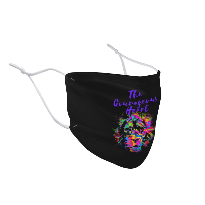 Courageous Heart Accessories Face Mask by Shop As You Wish Publishing