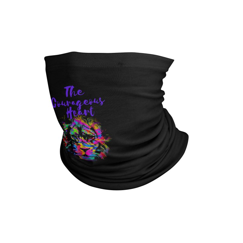 Courageous Heart Accessories Neck Gaiter by Shop As You Wish Publishing