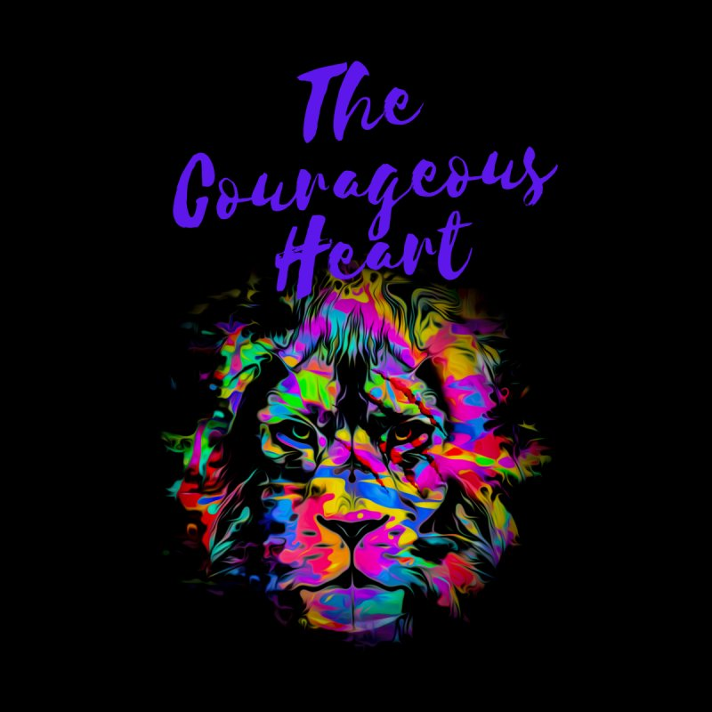 Courageous Heart Men's T-Shirt by Shop As You Wish Publishing