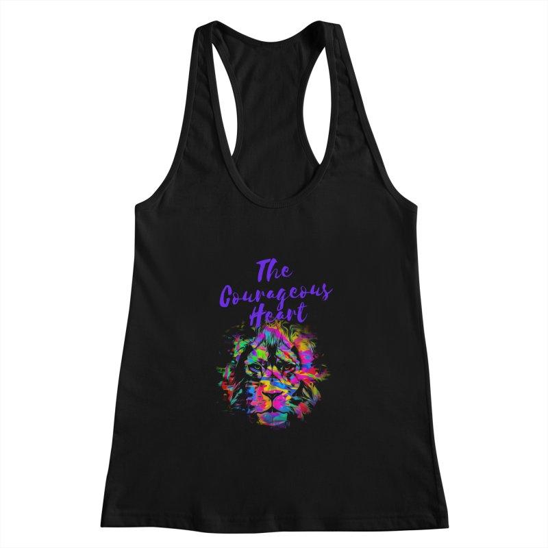 Courageous Heart Women's Tank by Shop As You Wish Publishing