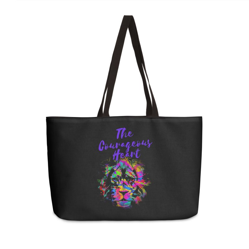 Courageous Heart Accessories Bag by Shop As You Wish Publishing