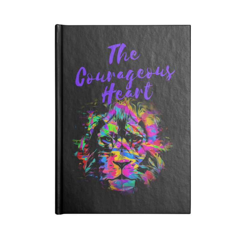 Courageous Heart Accessories Notebook by Shop As You Wish Publishing