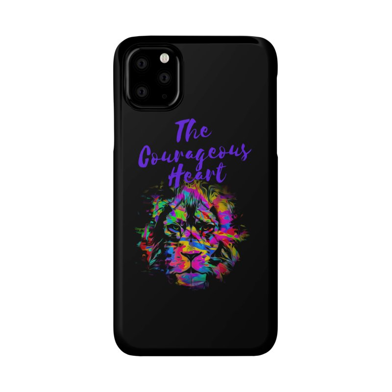 Courageous Heart Accessories Phone Case by Shop As You Wish Publishing