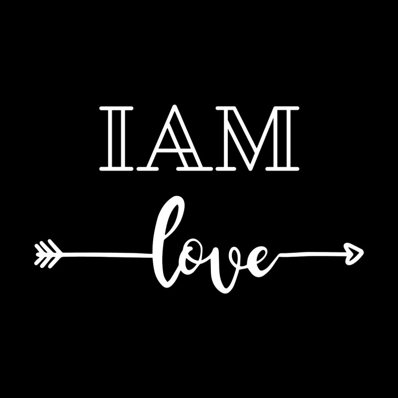 I Am Love Home Mounted Acrylic Print by Shop As You Wish Publishing
