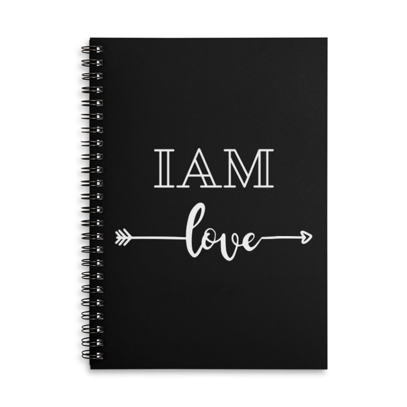 I Am Love Accessories Notebook by Shop As You Wish Publishing