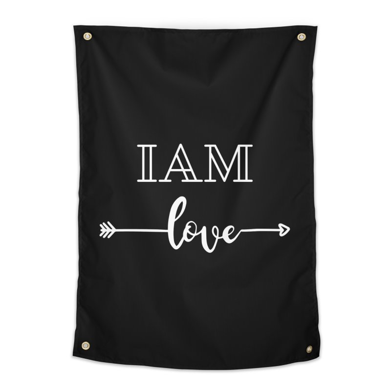 I Am Love Home Tapestry by Shop As You Wish Publishing