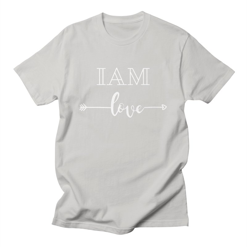 I Am Love Men's T-Shirt by Shop As You Wish Publishing