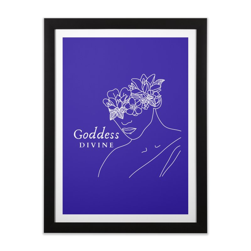 Goddess Divine Home Framed Fine Art Print by Shop As You Wish Publishing