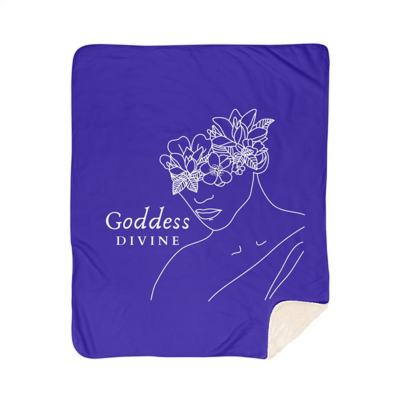 Goddess Divine Home Blanket by Shop As You Wish Publishing