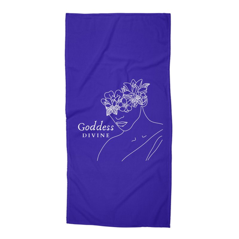 Goddess Divine Accessories Beach Towel by Shop As You Wish Publishing