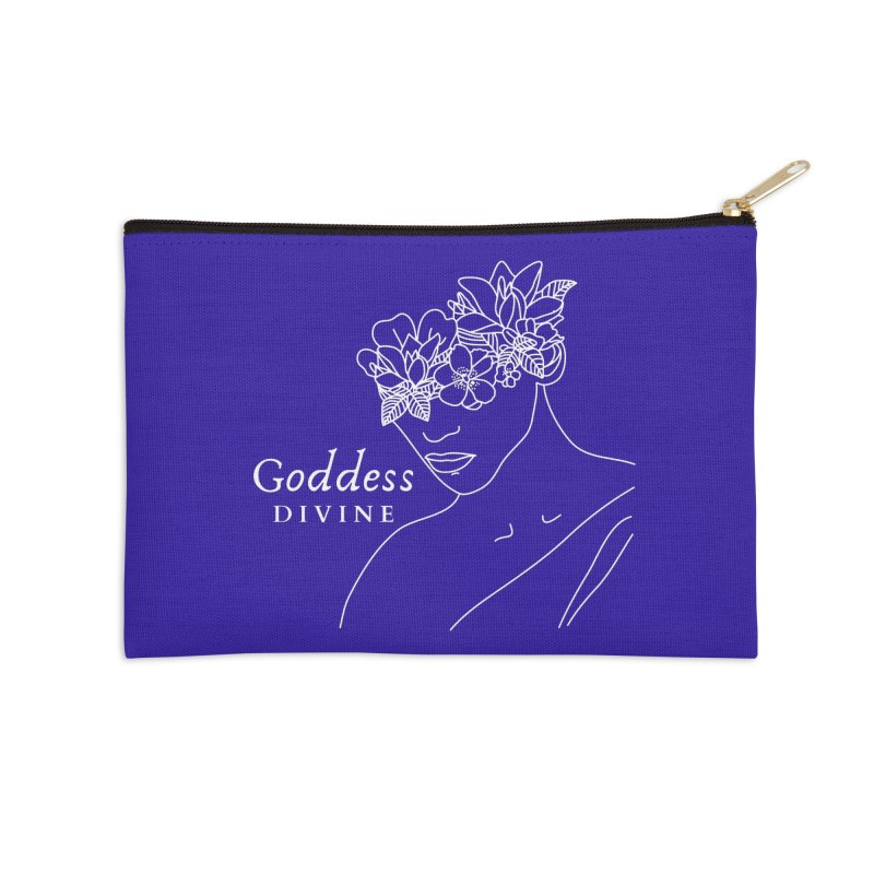 Goddess Divine Accessories Zip Pouch by Shop As You Wish Publishing
