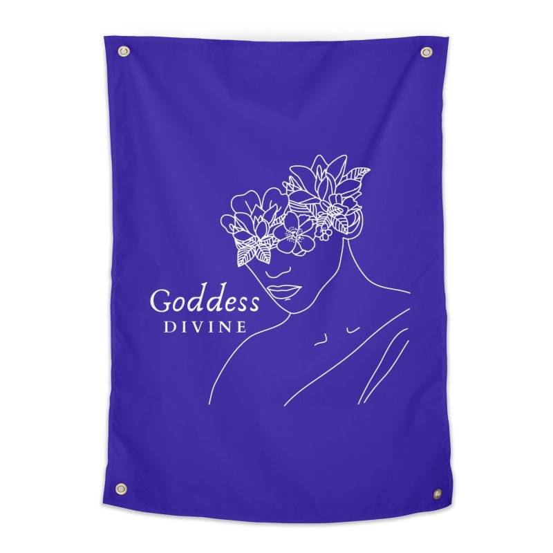 Goddess Divine Home Tapestry by Shop As You Wish Publishing