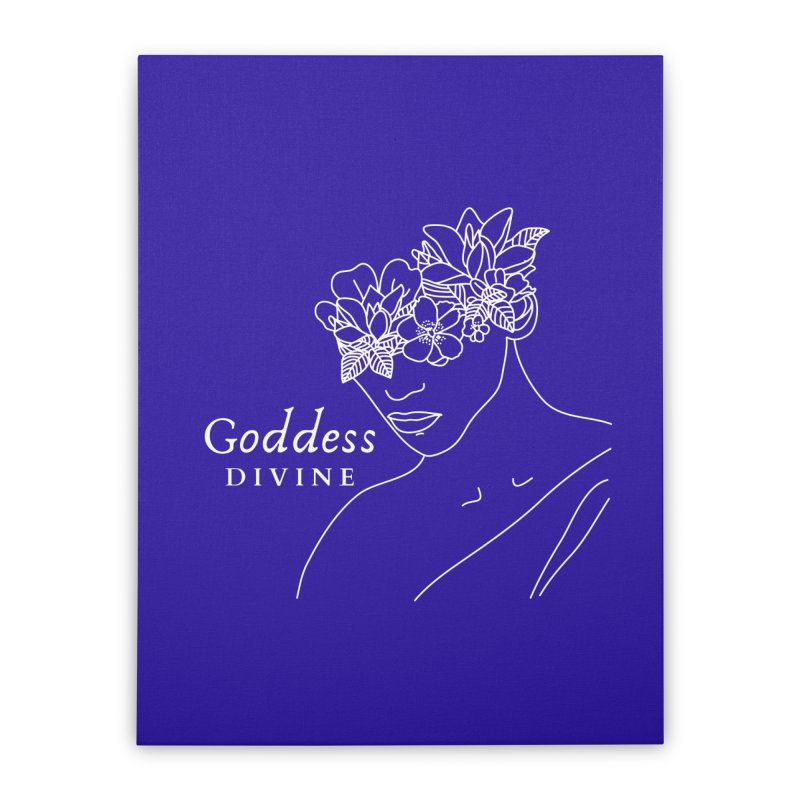 Goddess Divine Home Stretched Canvas by Shop As You Wish Publishing