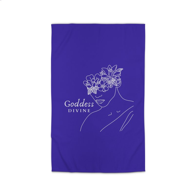 Goddess Divine Home Rug by Shop As You Wish Publishing