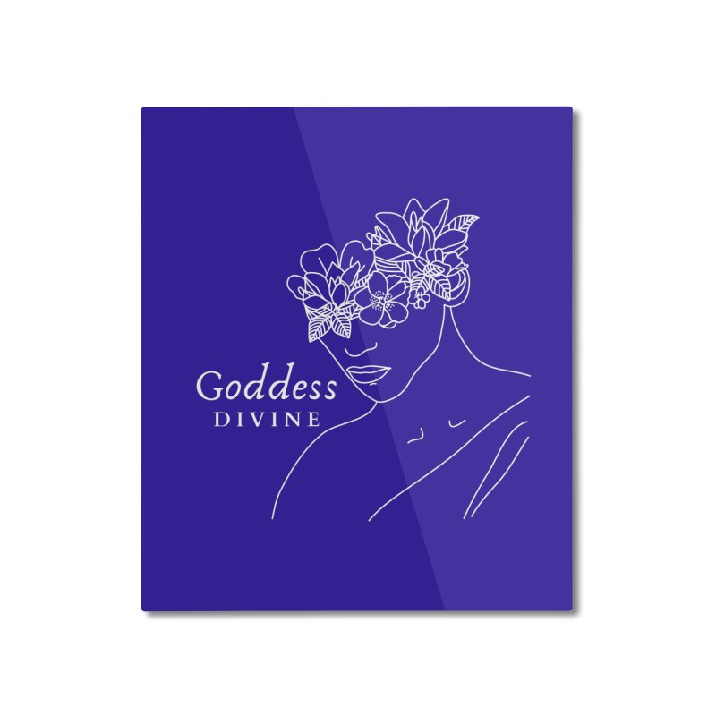 Goddess Divine Home Mounted Aluminum Print by Shop As You Wish Publishing
