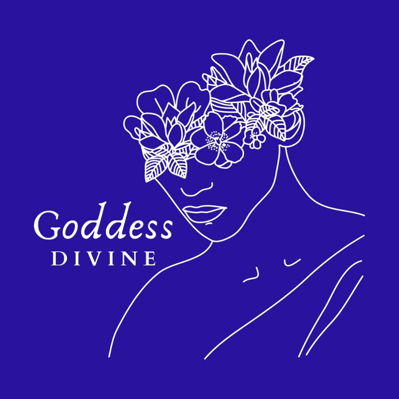 Goddess Divine Accessories Face Mask by Shop As You Wish Publishing