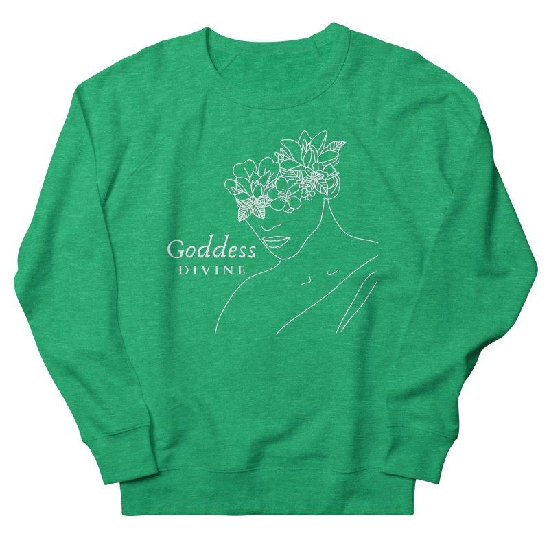 Goddess Divine Women's Sweatshirt by Shop As You Wish Publishing