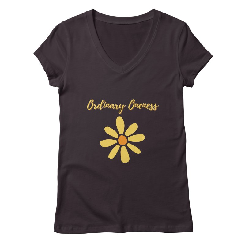 Ordinary Oneness Women's V-Neck by Shop As You Wish Publishing