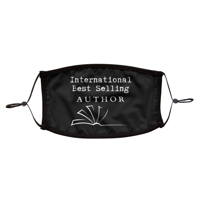 International Best Selling Author Accessories Face Mask by Shop As You Wish Publishing
