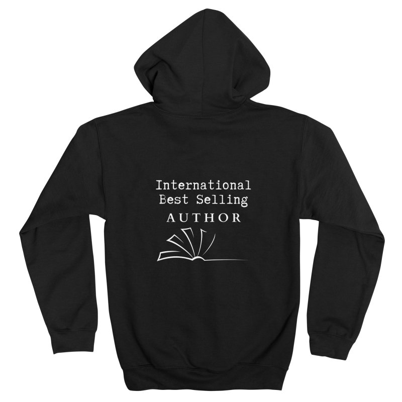 International Best Selling Author Women's Zip-Up Hoody by Shop As You Wish Publishing