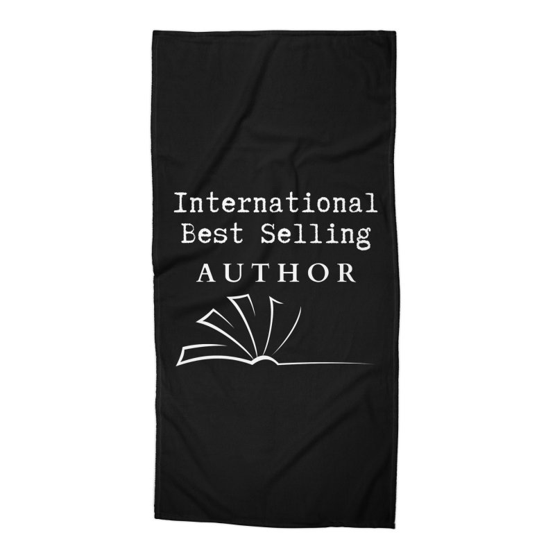 International Best Selling Author Accessories Beach Towel by Shop As You Wish Publishing