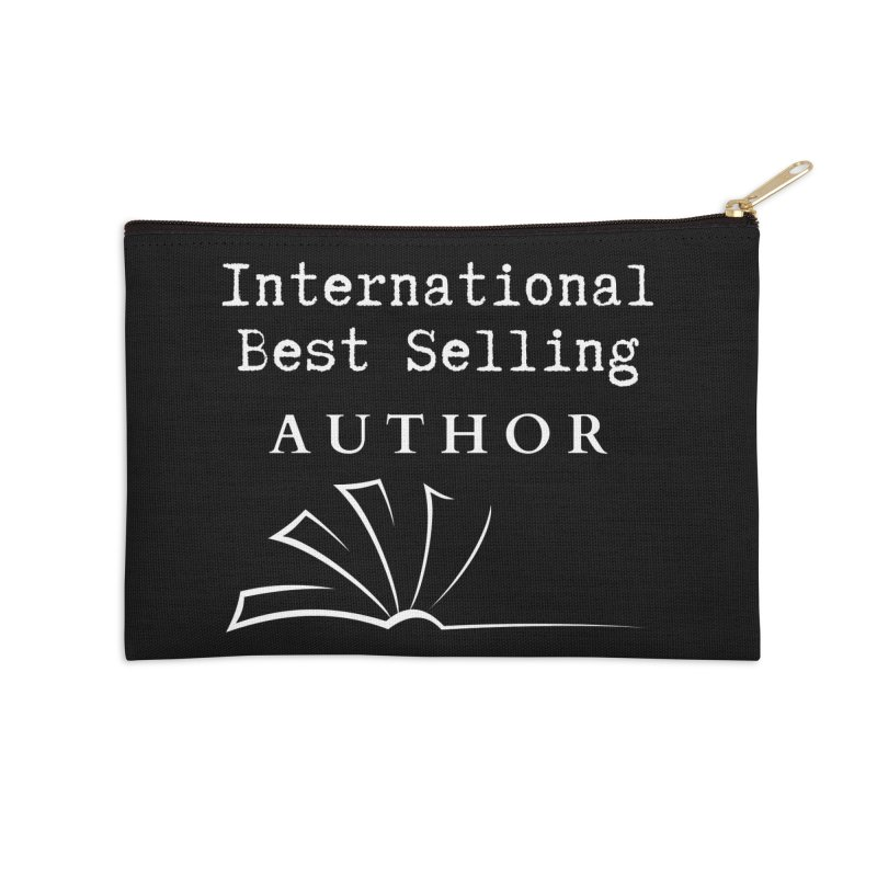 International Best Selling Author Accessories Zip Pouch by Shop As You Wish Publishing