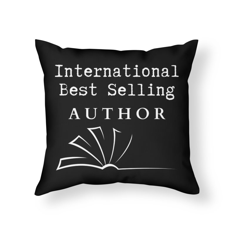 International Best Selling Author Home Throw Pillow by Shop As You Wish Publishing