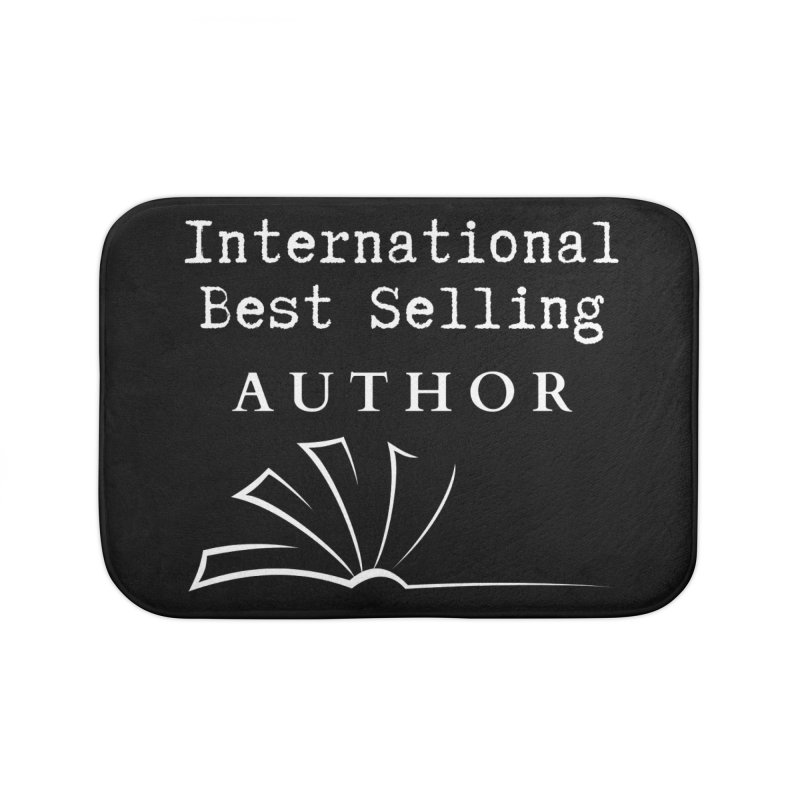 International Best Selling Author Home Bath Mat by Shop As You Wish Publishing