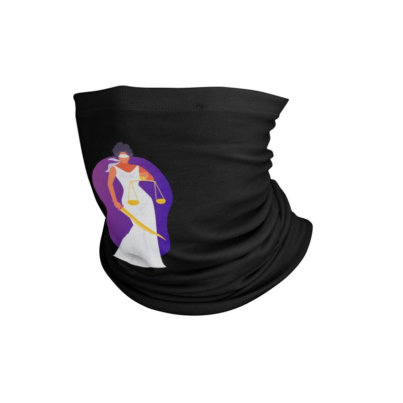 Goddess Divine Justice Accessories Neck Gaiter by Shop As You Wish Publishing