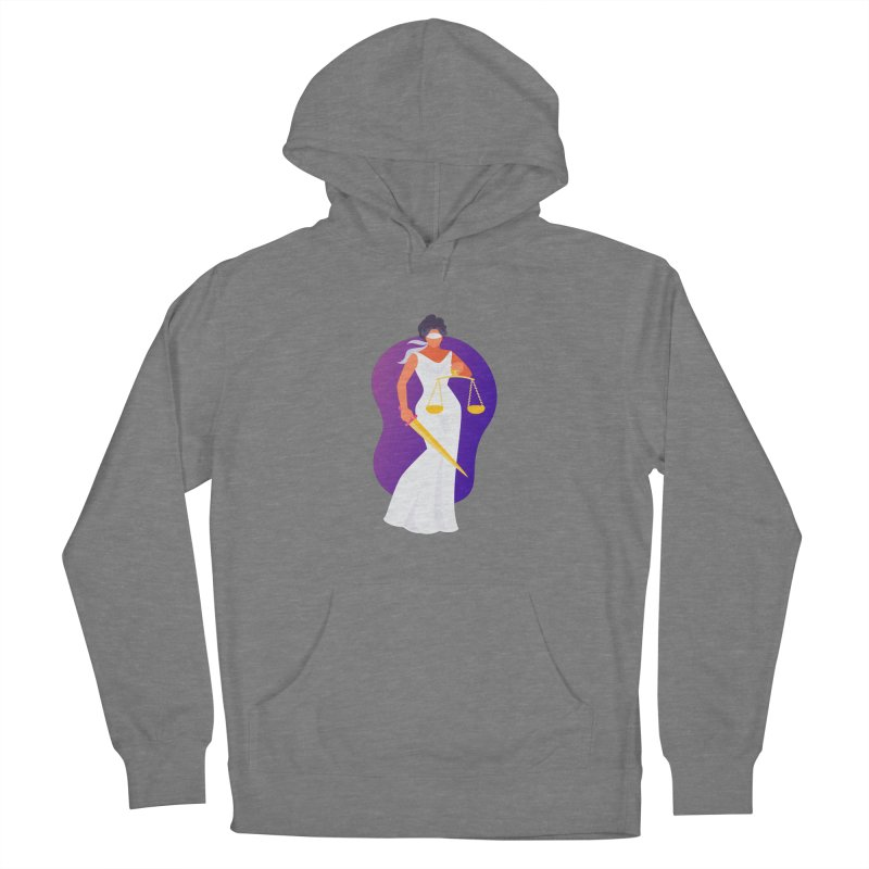 Goddess Divine Justice Women's Pullover Hoody by Shop As You Wish Publishing