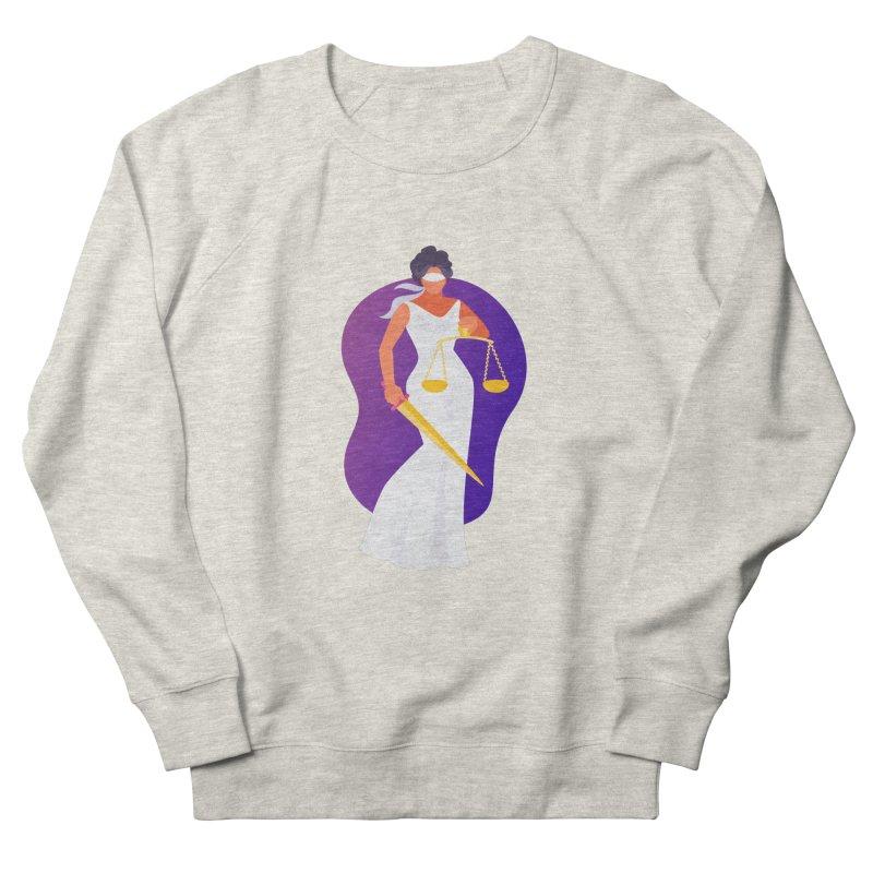 Goddess Divine Justice Women's Sweatshirt by Shop As You Wish Publishing