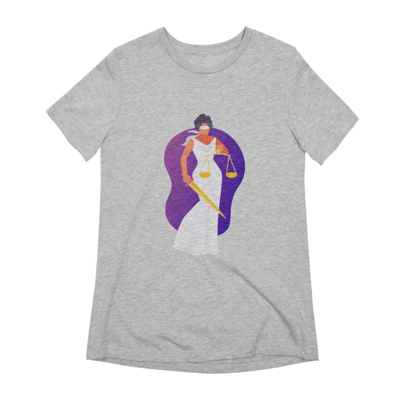 Goddess Divine Justice Women's T-Shirt by Shop As You Wish Publishing