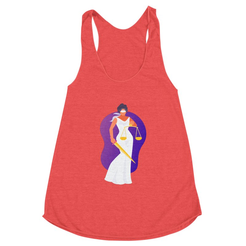 Goddess Divine Justice Women's Tank by Shop As You Wish Publishing