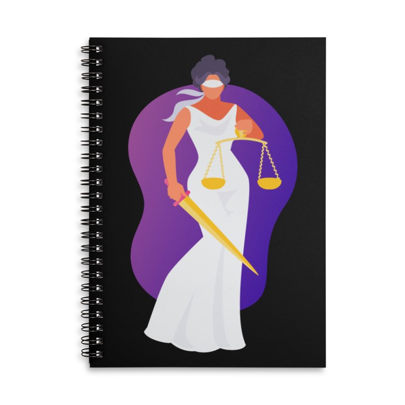 Goddess Divine Justice Accessories Notebook by Shop As You Wish Publishing