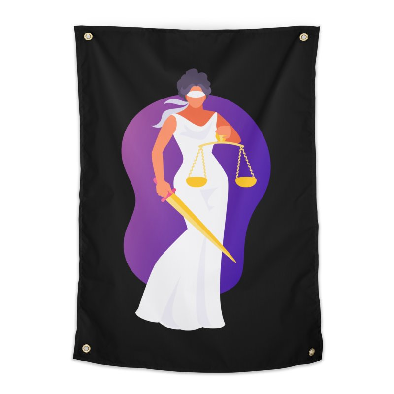 Goddess Divine Justice Home Tapestry by Shop As You Wish Publishing