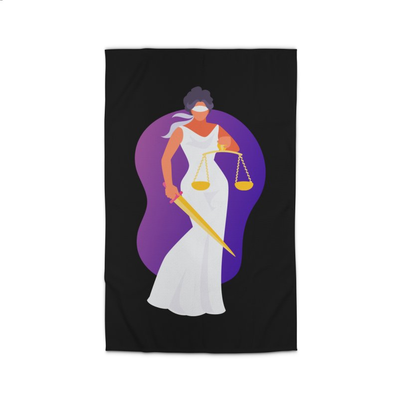 Goddess Divine Justice Home Rug by Shop As You Wish Publishing