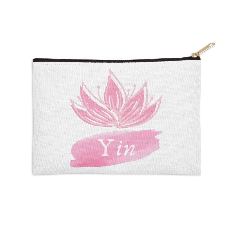 Lotus Yin Accessories Zip Pouch by Shop As You Wish Publishing
