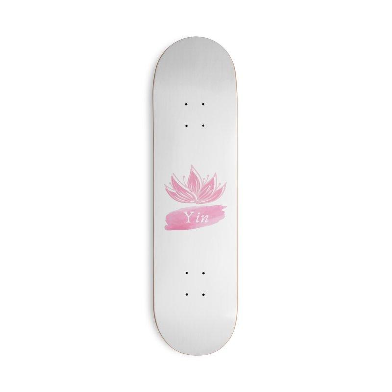 Lotus Yin Accessories Skateboard by Shop As You Wish Publishing