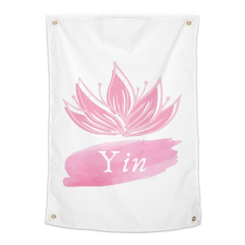 Lotus Yin Home Tapestry by Shop As You Wish Publishing