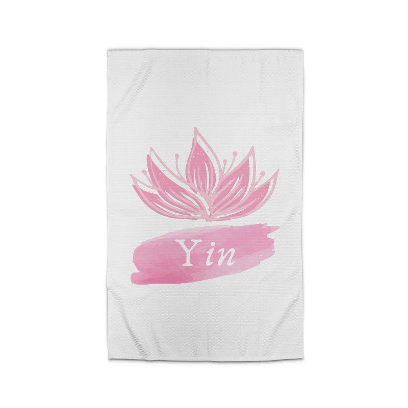 Lotus Yin Home Rug by Shop As You Wish Publishing